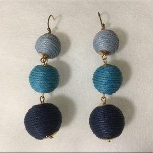 Thread Ball Earrings